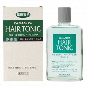 """113501 """"Yanagiya"""" """"Hair Tonic"""" Тоник для стимуляции роста и предотвращения выпадения волос с  растительными экстрактами и освежа"""
