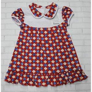 Платье 724/52 (красное, ромбик)