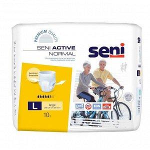 Трусы впитывающие для взрослых Seni ACTIVE NORMAL large по 10 шт.