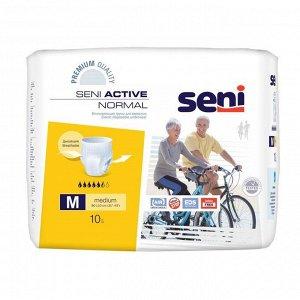 Трусы впитывающие для взрослых Seni ACTIVE NORMAL medium по 10 шт.