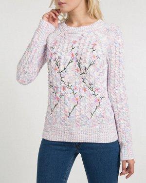 Джемпер жен. (002118)бело-розовый