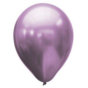 """Воздушный шар 11""""/28см Хром PLATINUM Violet 25шт"""
