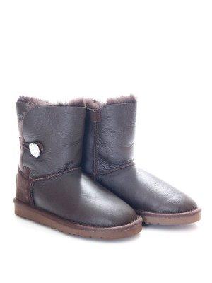 Угги Страна производитель: Китай Вид обуви: Угги Пол: Для девочек Сезон: Зима Полнота обуви: Тип «F» или «Fx» Цвет: Коричневый Материал верха: Натуральная кожа + замша Материал подкладки: Натуральный