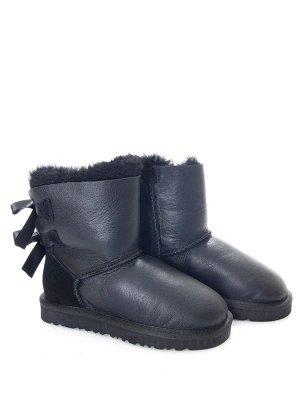 Угги Страна производитель: Китай Вид обуви: Угги Пол: Для девочек Сезон: Зима Полнота обуви: Тип «F» или «Fx» Цвет: Черный Материал верха: Замша + нубук Материал подкладки: Натуральный мех Высота голе