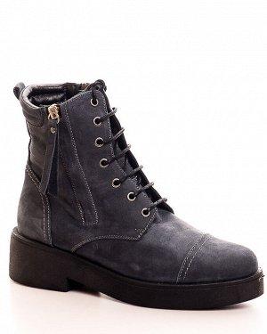 Ботинки Страна производитель: Турция Размер женской обуви x: 38 Полнота обуви: Тип «F» или «Fx» Вид обуви: Ботинки Сезон: Весна/осень Материал верха: Нубук Материал подкладки: Флис Каблук/Подошва: Каб