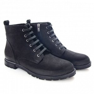 Ботинки Страна производитель: Турция Размер женской обуви x: 36 Полнота обуви: Тип «F» или «Fx» Вид обуви: Ботинки Сезон: Весна/осень Материал верха: Нубук Материал подкладки: Текстиль Каблук/Подошва: