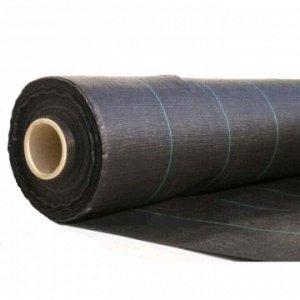Агроткань застилочная 1,10м х 100м плотность 100г/м2 черная
