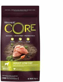 CORE Корм со сниженным содержанием жира из индейки с курицей для взрослых собак средних и крупных пород 1,8 кг