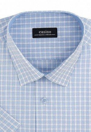 Сорочка мужская короткий рукав CASINO c125/051/8128/Z/1