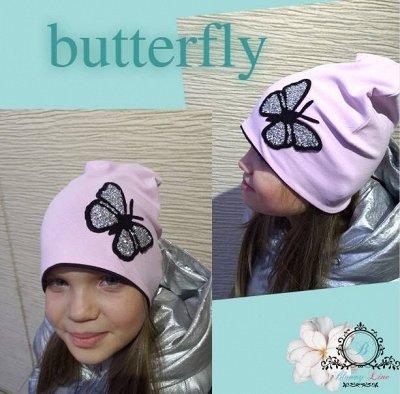№133-✦Bloomy line✦- детская мода для маленьких модниц. — Шапки Весна/Лето/Осень — Вязаные шапки
