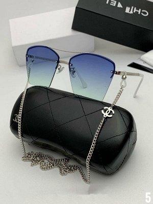 Солнечные очки с цепочкой