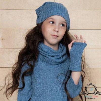 №139. =✦Bloomy line✦-детская мода для маленьких модниц — Шарфы, Снуды, Бактусы — Головные уборы
