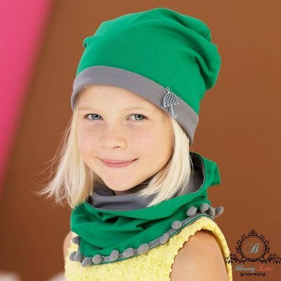 №138=✦Bloomy line✦-детская мода для маленьких модниц. — Снуд, Шапка — Шапки