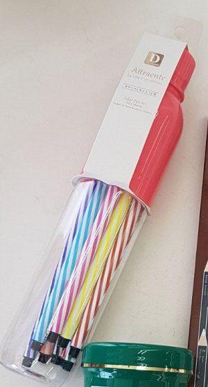 Набор фломастеров 12 штук, в пластиковом пенале