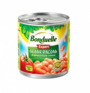 Bonduelle (Бондюэль) Фасоль белая в томатном соусе (212 мл)