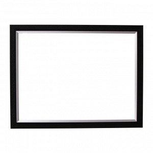 Рама для картин (зеркал) 30 х 40 х 2.8 см. пластиковая. Calligrata. чёрный