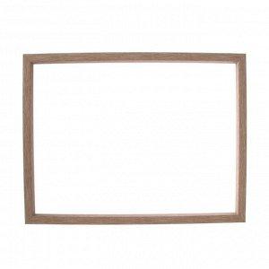 Рама для картин (зеркал) 30 х 40 х 1.9 см, пластиковая, Calligrata, светло-коричневая