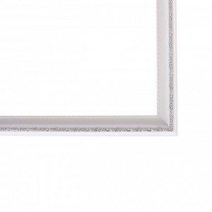 Рама для картин (зеркал) 40 х 50 х 3.0 см. пластиковая. Calligrata. белая