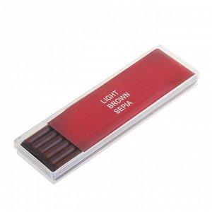 Сепия Стержень 5.6 мм, набор 6 штук Koh-I-Noor GIOCONDA, светло-коричневая (2364433)
