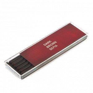 Сепия Стержень 5.6 мм, набор 6 штук Koh-I-Noor GIOCONDA, темно-коричневая (2364434)