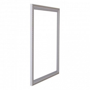 Рама для картин (зеркал) 30 х 40 х 2.6 см. пластиковая. Calligrata. белая с золотом