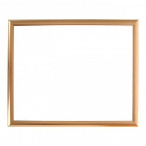Рама для картин (зеркал) 40 х 50 х 2.7 см. пластиковая. Calligrata. золото