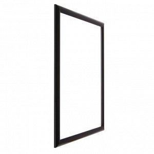 Рама для картин (зеркал) 40 х 50 х 2.7 см. пластиковая. Calligrata. цвет чёрный