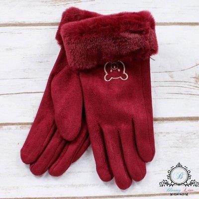 №135-✦Bloomy line✦-детская мода для маленьких модниц.Новинки — Перчатки — Вязаные перчатки и варежки