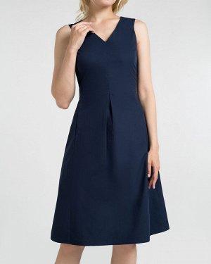 Платье жен. (193921)темно-синий