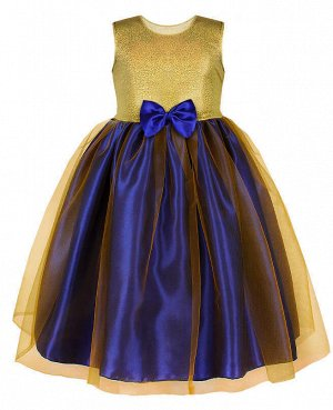 Нарядное жёлтое платье для девочки Цвет: жёлтый