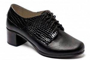 Туфли Тип: туфли женские Подошва: ПУ Верх: натуральная кожа  Подклад: кожподклад Высота каблука 4,5 см