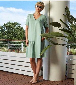 Платье Платье из закупки V**F/Германия Цена в СП 3363 Колени закрыты при росте 168 Состав ткани 100% viscose