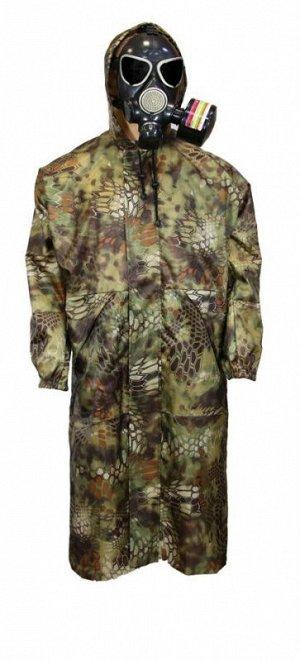 """Плащ ветровлагозащитный """"Raincoat"""" ВВЗ-1 (р36-38, цв. Камуфляж, тк Oxford 240D, 2400мм)"""