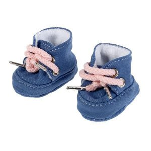 OTF-03SH-RU Одежда для кукол обувь для кукол 40-42см джинс КАРАПУЗ в кор.100шт
