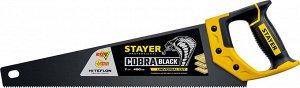 """Ножовка универсальная (пила) """"Cobra BLACK"""" 400 мм"""