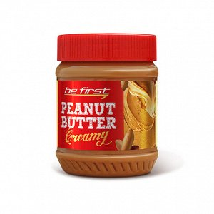 Be First Паста Кремовая арахисовая Creamy (340 гр.)