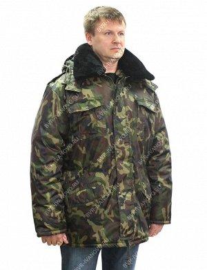 Куртка Зима тк.Оксфорд цв.Зеленый КМФ