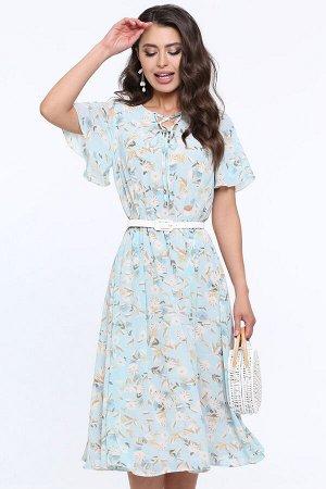 Платье Чувство прекрасного, романтичная, с ремешком