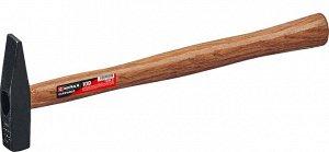 MIRAX 100 молоток слесарный с деревянной рукояткой