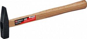 MIRAX 200 молоток слесарный с деревянной рукояткой