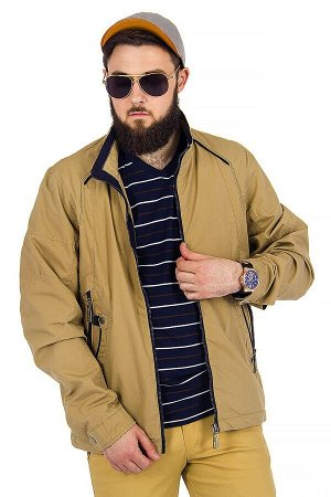 Куртка Сезон летние. Цвет бежевый. Состав хлопок-100%. Бренд EU-MENS