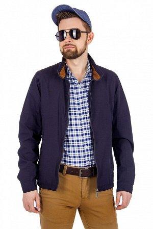 Куртка Сезон: летние. Цвет: синий. Комплектация: куртка. Состав: хлопок-100%. Бренд: EU-MENS.