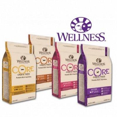 Зверьё Мое — корма, лакомства, аксессуары.  — Wellness CORE — беззерновые рационы на основе свежего мяса — Корма