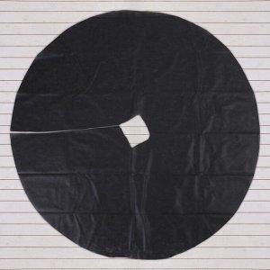 Круг приствольный, d = 1,6 м, плотность 60 г/м?, спанбонд с УФ-стабилизатором, набор 5 шт., чёрный, «Агротекс»