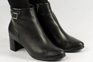 Ботильоны Тип: ботинки и ботильоны Сезон: демисезон Подошва: ПУ Верх: натуральная кожа Подклад: байка Высота каблука 5 см
