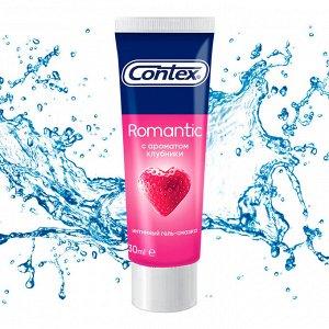 CONTEX Romantic (с ароматом клубники) Интимный гель-смазка 30мл
