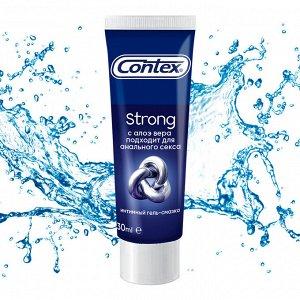 CONTEX Strong (с регенерирующим эффектом для анального секса) Интимный гель-смазка 30мл