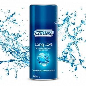 CONTEX Long Love (с охлаждающим эффектом) Интимный гель-смазка 100мл