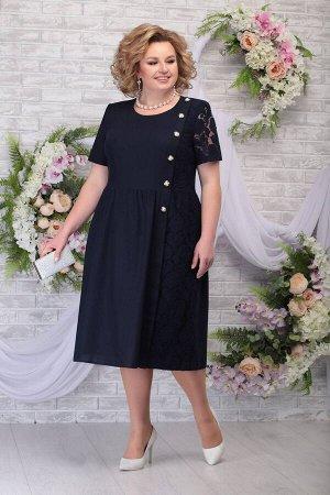 Платье Ninele 7285 темно-синий