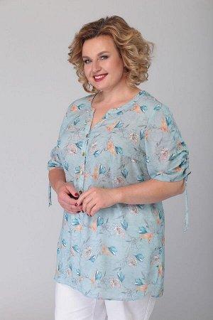 Блуза Блуза Novella Sharm 3558  Состав: ПЭ-95%; Эластан-5%; Сезон: Весна-Лето Рост: 170  Дизайн блузы хорошо продуман и удовлетворит изысканный вкус. Это универсальная вещь в которой вы будете романт